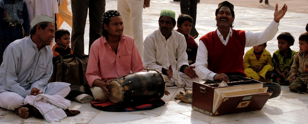 Indian religious music - Qawwali in Fatehpur Sikri