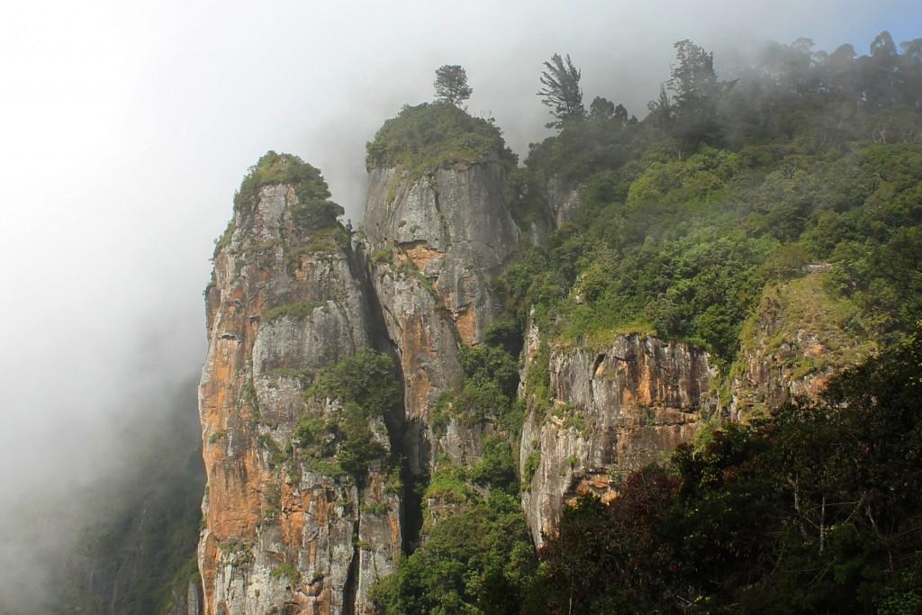 Destinos de verano - Pillar Rocks en Kodaikanal