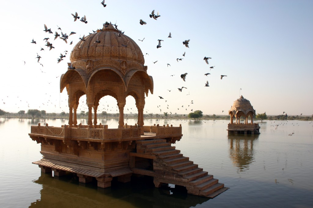 Rajasthan as a couple - Ama Sagar - Jaisalmer