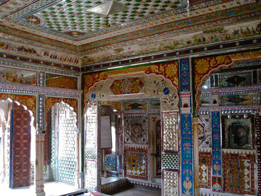 What to see in Jaisalmer - Patwa Haveli shiny room