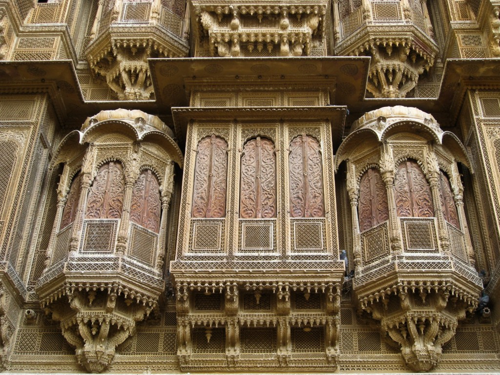 What to see in Jaisalmer - Patwa Haveli exterior