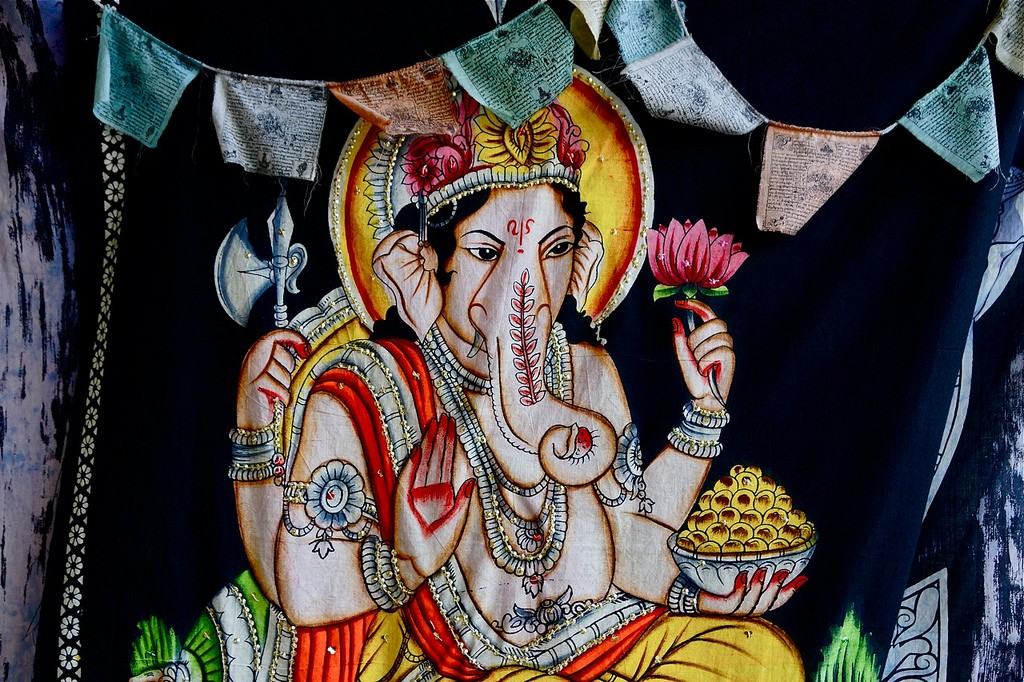 Elefantes en India - Imagen de Ganesha