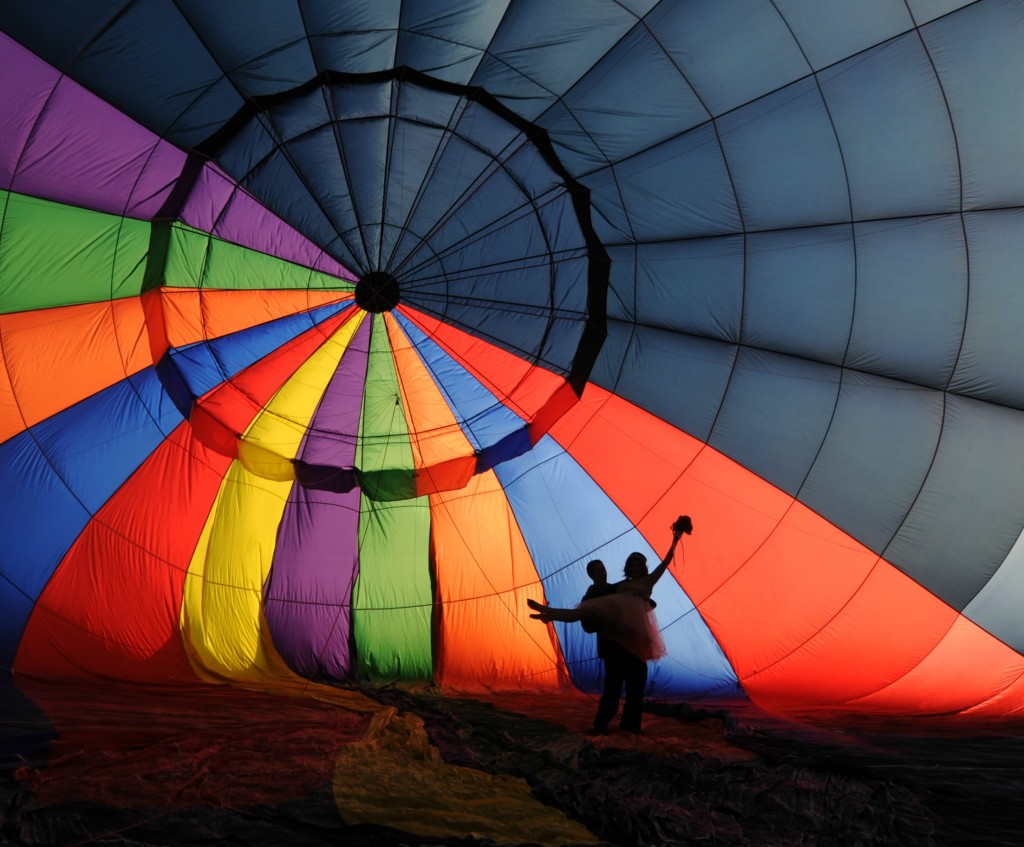 Balloon flight in Sri Lanka - ideal places for a honeymoon
