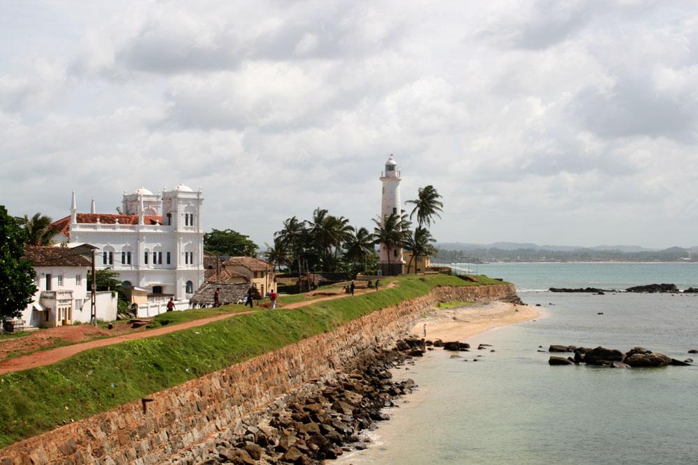 Historia de Sri Lanka - Fortaleza holandesa en Galle