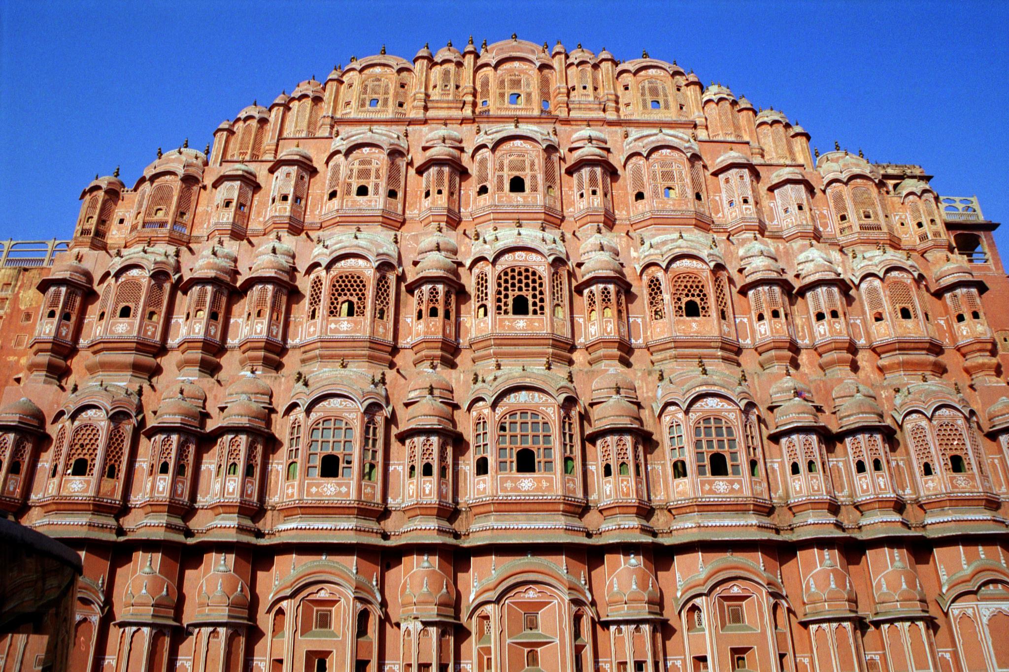 Jaipur India  City new picture : El origen del color de Jaipur, la Ciudad Rosa de la India