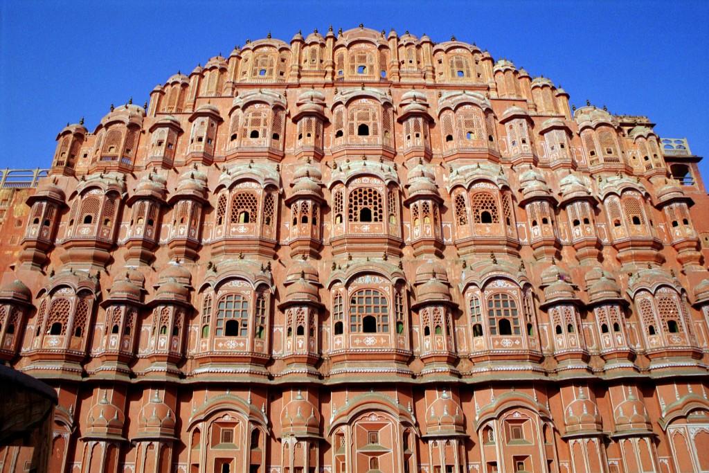 Jaipur, la Ciudad Rosa de la India - Hawa Mahal -