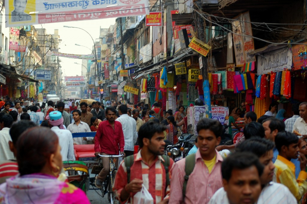 Population in India - Delhi