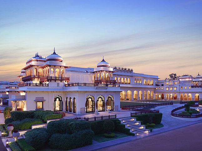 hoteles de lujo del Norte de India