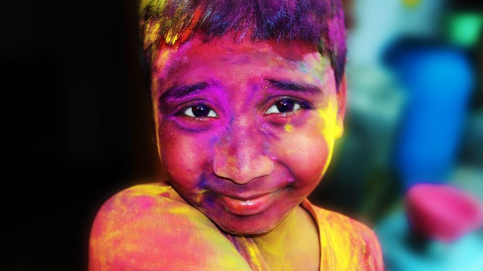 Colores en India