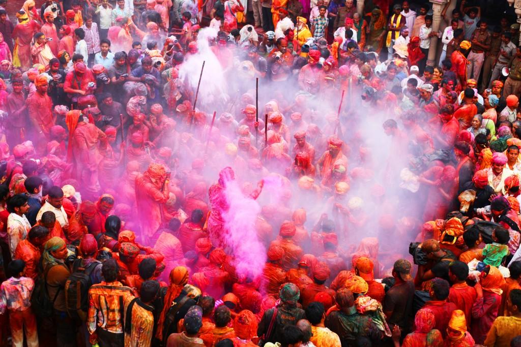 Holi 2016 en India