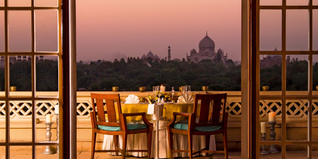Oberoi Amarvilas is one of the best luxury hotels in North India