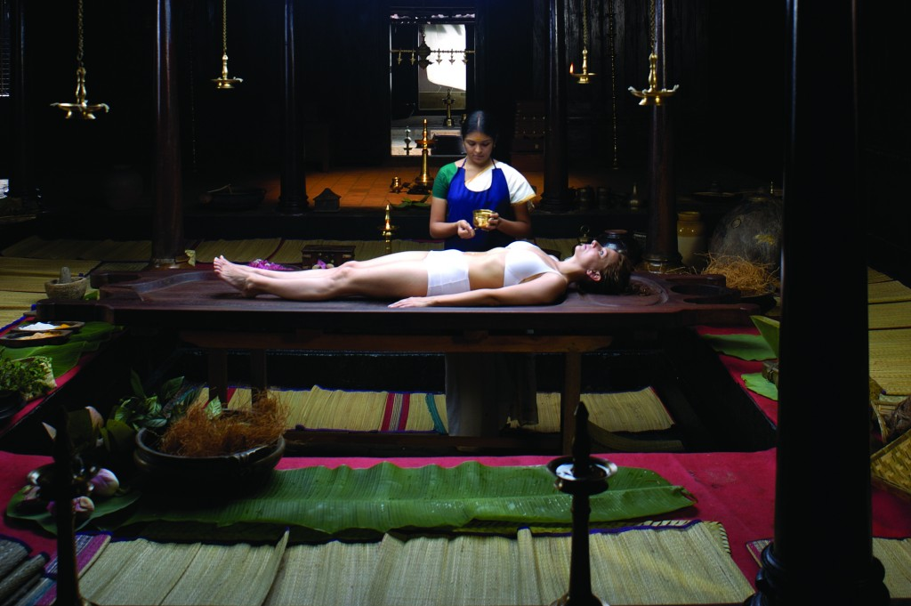 The smell of India - Ayurvedic massage