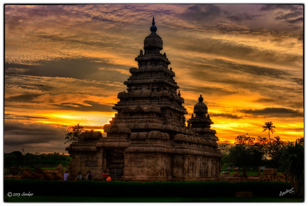 Templos de Tamil Nadu - The Shore Temple