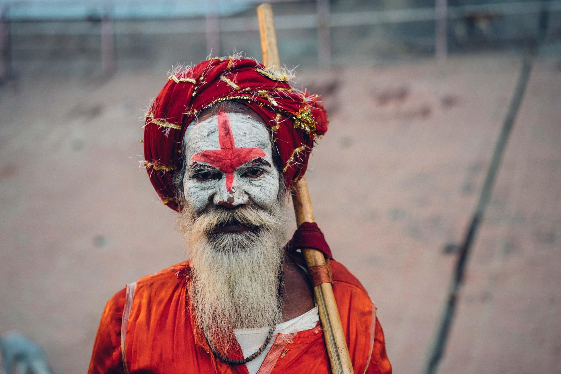 Kumbh Mela en Haridwar - Sadhu
