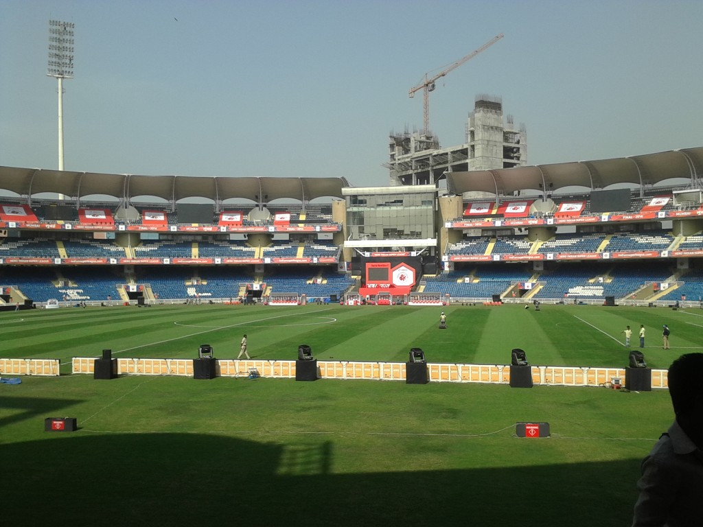 Criquet en India - DY Patil Stadium