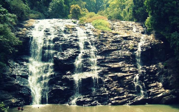 Ecoturismo en la India - Abbey Falls en Coorg