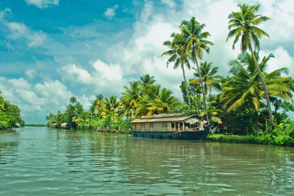 Region de Kerala - Backwaters
