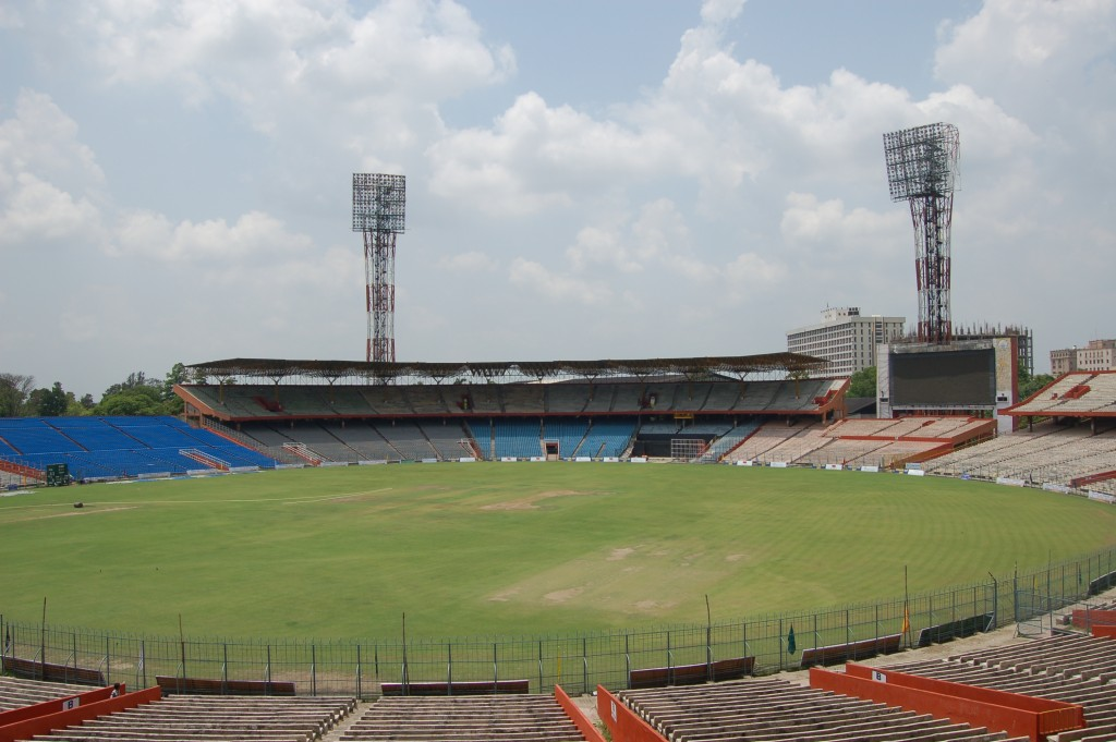 Criquet en India - Eden Gardens