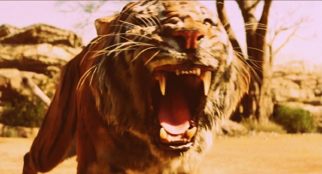 Idris Elba es Shere Khan - Captura del tráiler -