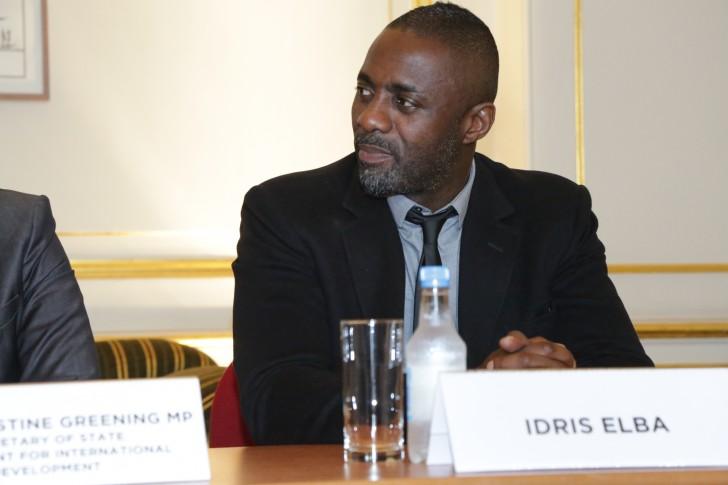 Idris Elba es Shere Khan - Idris Elba en rueda de prensa