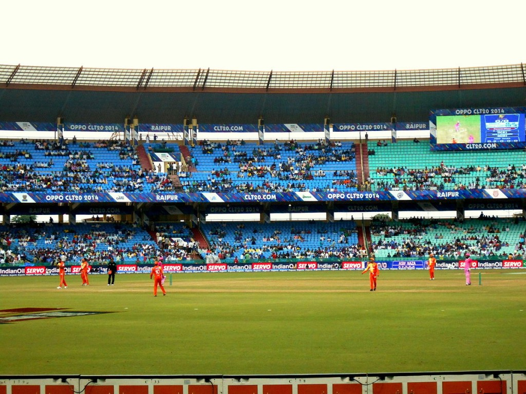 Criquet en India - Raipur Stadium