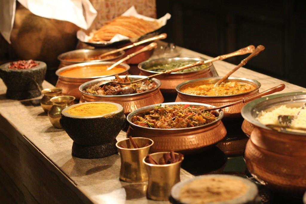 Order at an Indian restaurant