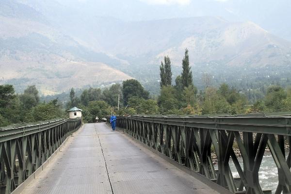 Puente más alto del mundo - Bailey bridge