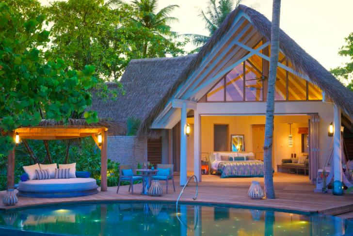 Dónde alojarse en Maldivas - Milaidhoo Beach Pool Villas