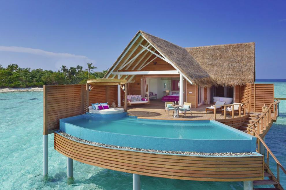 D nde alojarse en maldivas descubre milaidhoo for Hoteles super lujo maldivas