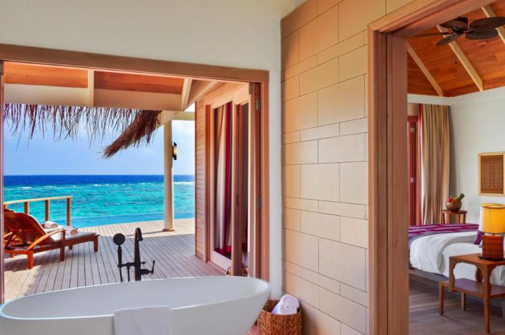 Dónde alojarse en Maldivas - Milaidhoo Water Pool Villas