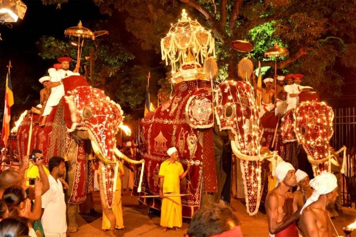 Templos de Anuradhapura - Festival Kandy