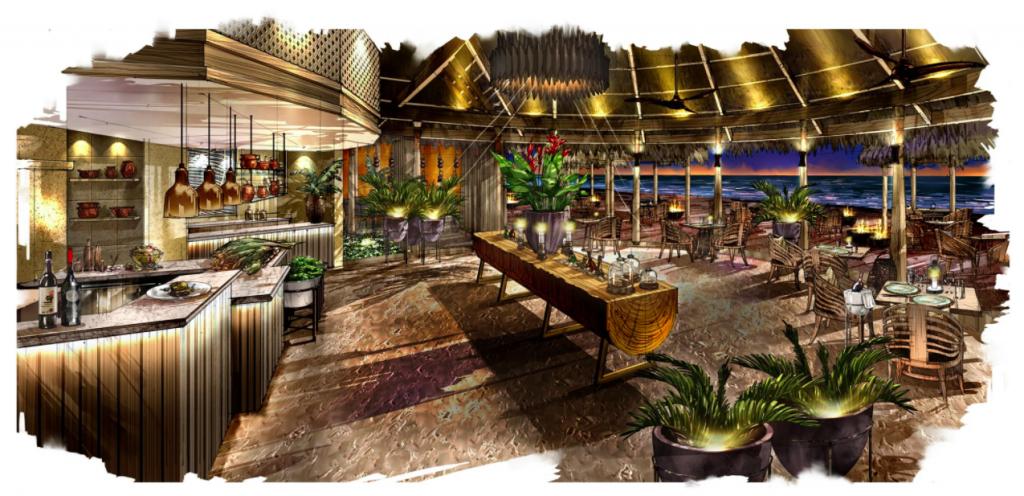 Restaurantes en Maldivas - Restaurante dhoni Milaidhoo Island