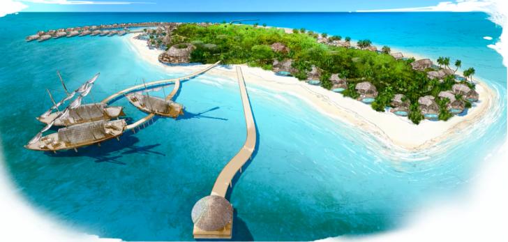 Restaurantes en Maldivas - Restaurante en 3 dhoni de Milaidhoo Island