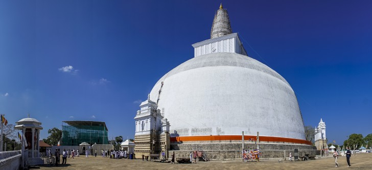 Templos de Anuradhapura - Daboga Ruwanwelisaya