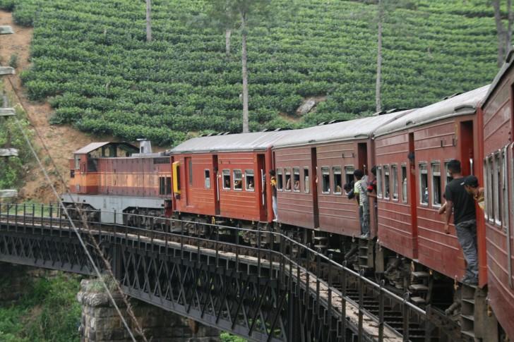 Udawalawe National Park - Tren en Sri Lanka