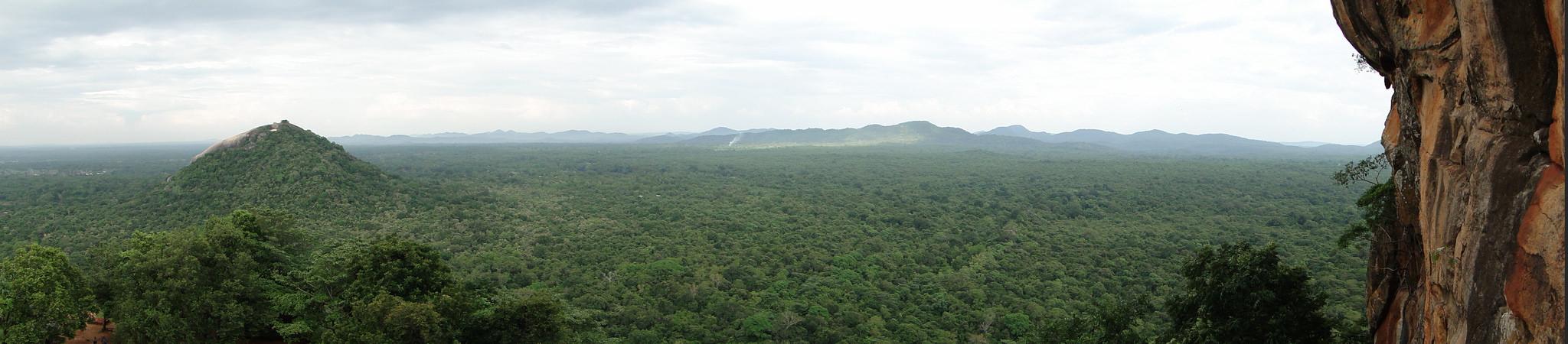 Pidurangala, Sri Lanka - Vista
