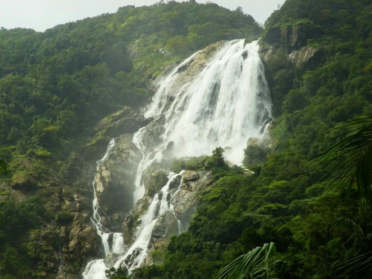 Cascadas de la India - Dudhsagar