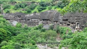 Ajanta Caves - Caves
