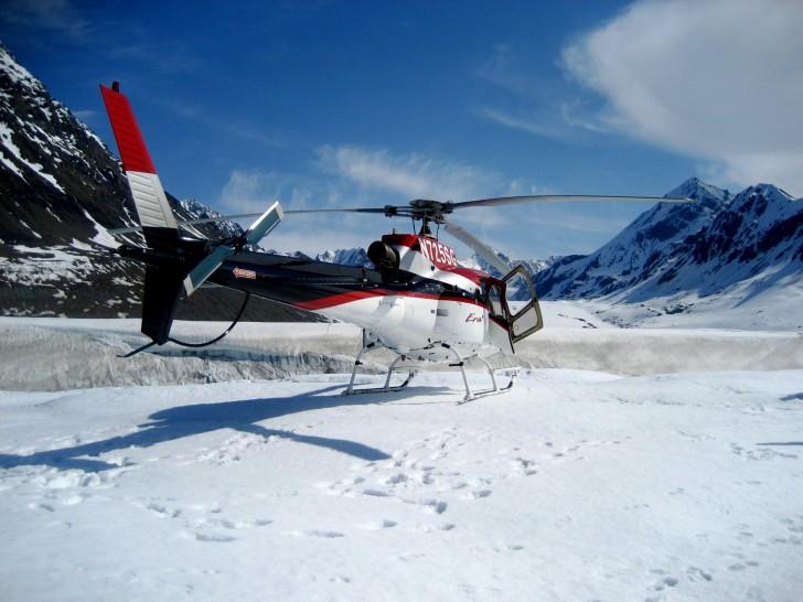 Vuelo en helicóptero sobre el Everest