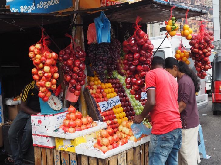 Mercados tradicionales de Colombo y Kandy - Mercado de Kandy - Mercado de Colombo