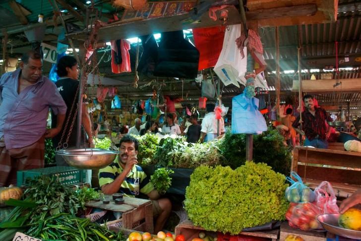 Mercados tradicionales de Colombo y Kandy - Mercado de Kandy