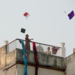 Festival of kites of Varanasi