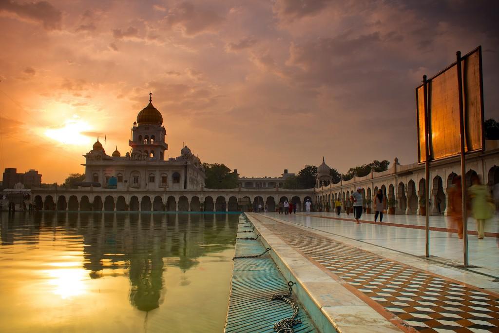 Templo Sij en Nueva Delhi