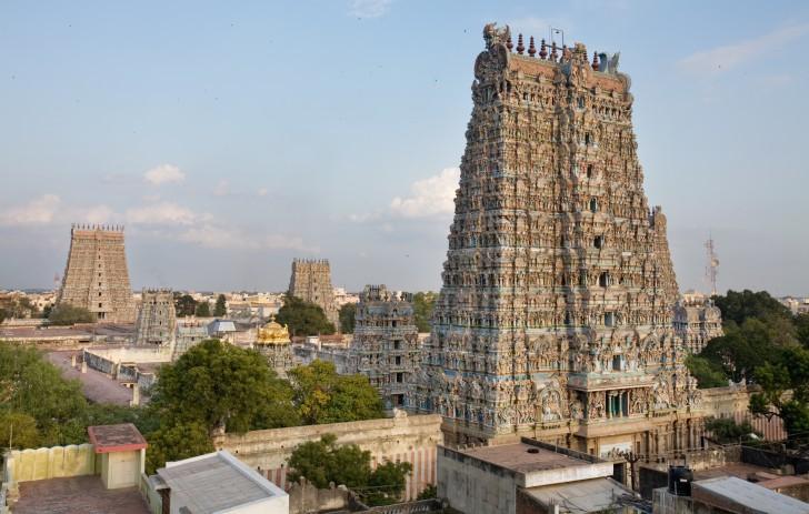 Templos de la India - Madurai Temple