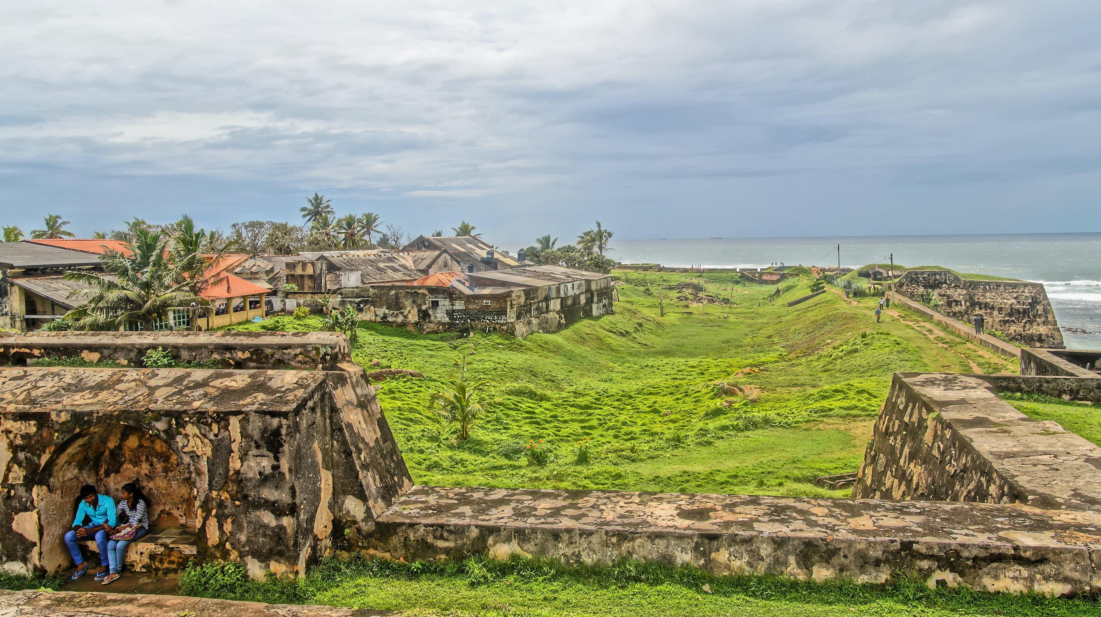 Viajar a Sri Lanka en enero - Fortaleza de Galle