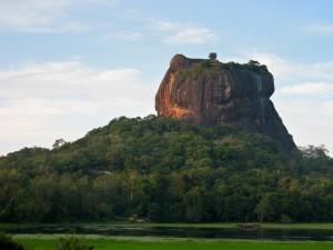 Viajar a Sri Lanka en enero - La Roca del León en Sigiriya