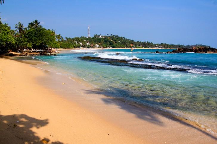 Viajar a Sri Lanka en febrero - Playa de Mirissa