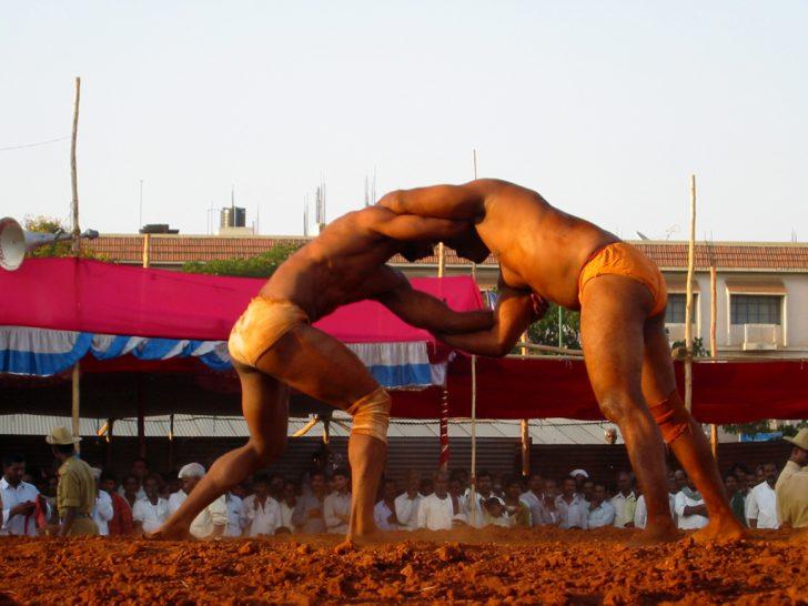 Lucha de la India