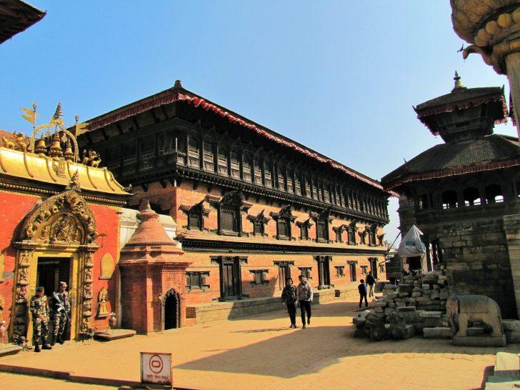 Visitar Nepal después del terremoto - Plaza del Palacio de Bhaktapur
