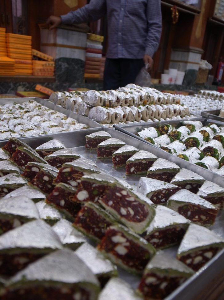 Pastas indias de Varanasi